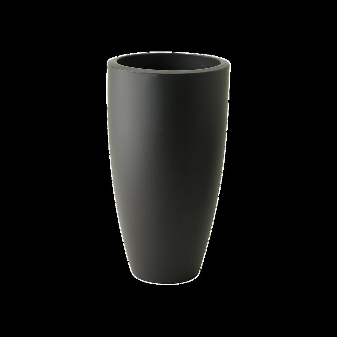 39 CM Transparent Elho Pure Soft Round High Smart LED Light Blumentopf